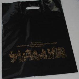 PVC čierna taška